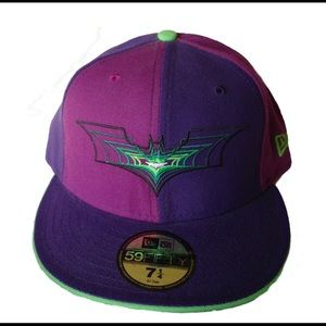New Era 59 Fifty Batman Fitted Cap Size: 7 3/4